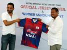 नेपाली क्रिकेट टिमको नयाँ जर्सी सार्वजनिक