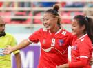 मैत्रीपूर्ण महिला फुटबलमा नेपालले बंगलादेशलाई हरायो