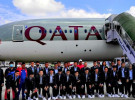 साफ च्याम्पियनसिप तयारीमा नेपाली पुरुष फुटबल टोली कतार उड्यो