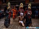 किलागलको डबलीमा दीप्याखं (देवीनाच) (फोटो फिचर)